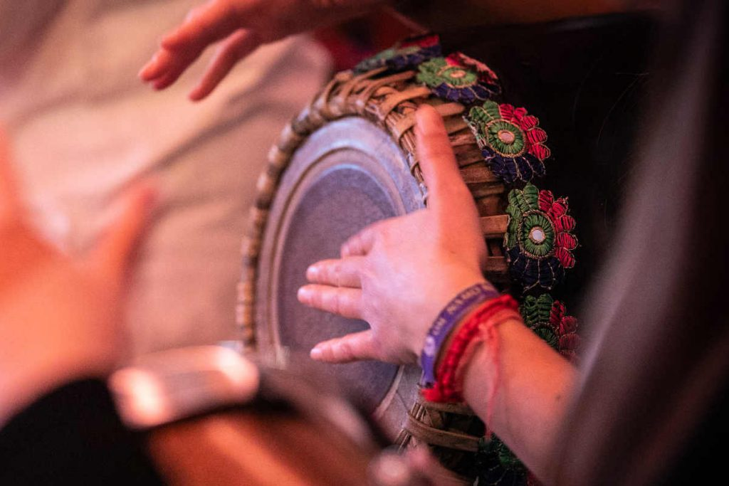 Dublin bhajan session